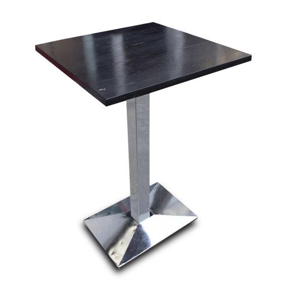 Darkwood Poseur Tables x2