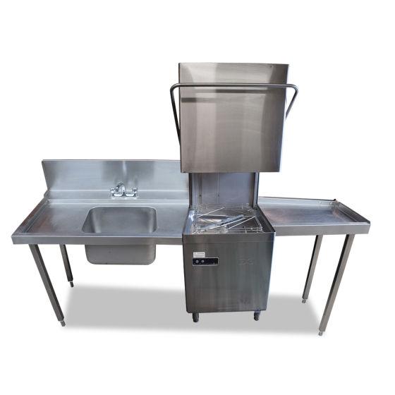 Pass-Through Station & DC Dishwasher