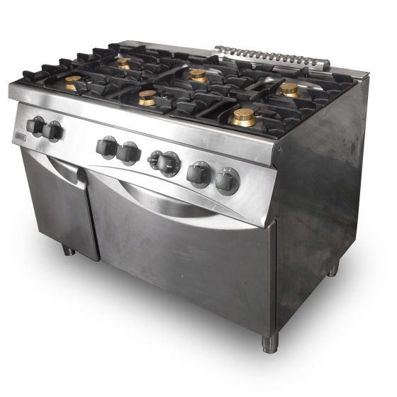 Zanussi 6 Burner Cooker