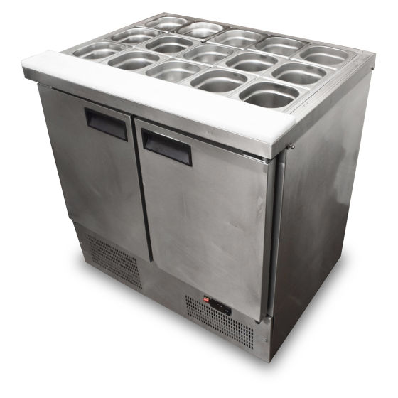 Frilixa 2 Door Prep Fridge