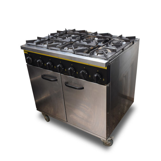 Buffalo 6 Burner Oven