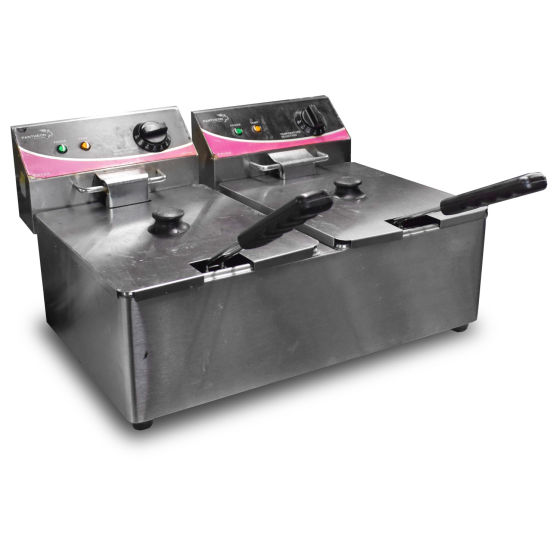 Pantheon Twin Tank Tabletop Fryer