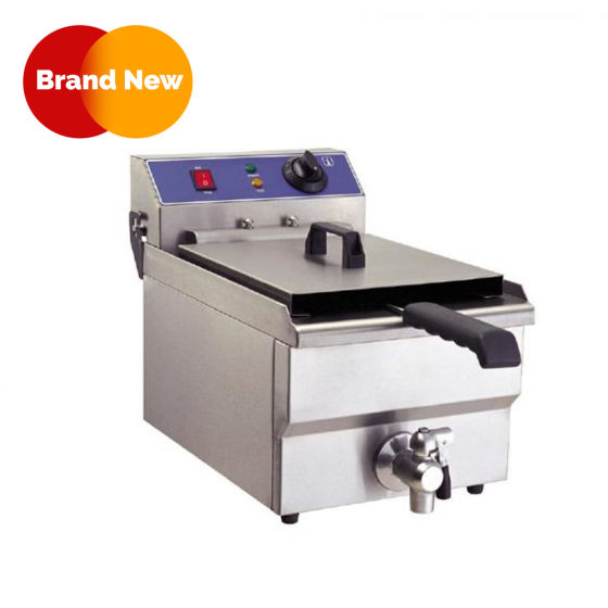 Electric Single Countertop Fryer with Tap