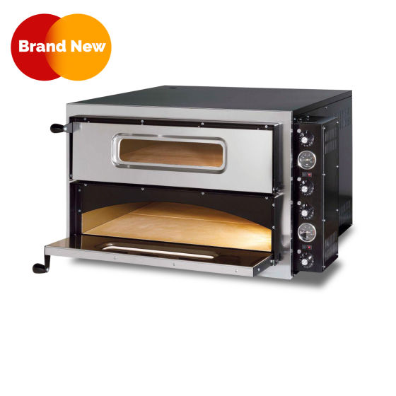 Electric Pizza Oven Double Deck 2 X (28″ X 28″)