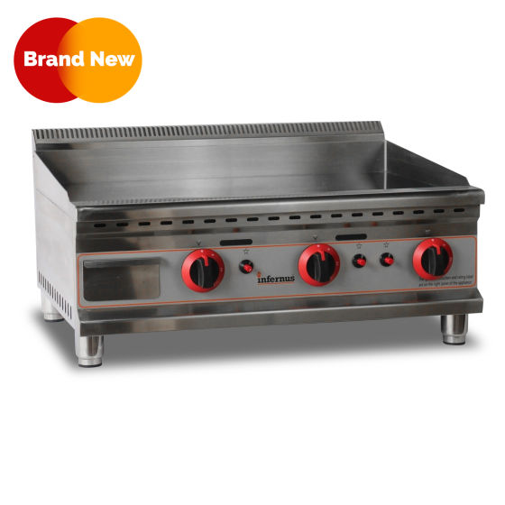 Counter Top Gas Griddle 750GG