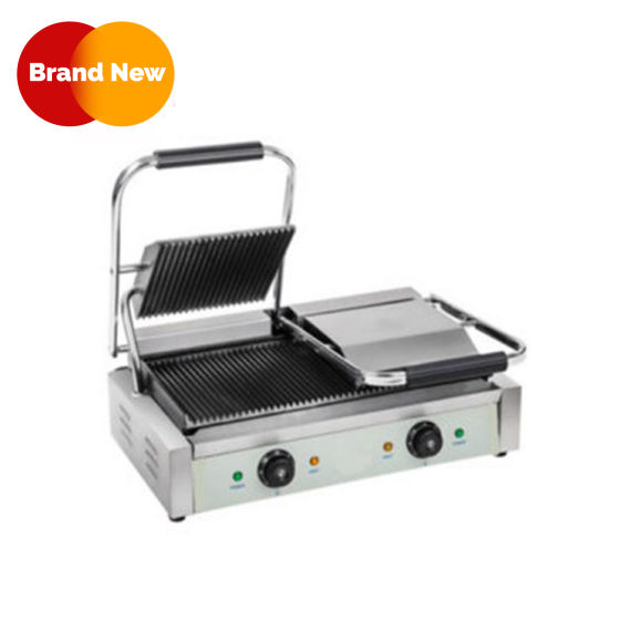 Contact Grill / Ribbed Double