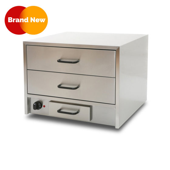 2-Drawer Warming Cabinet
