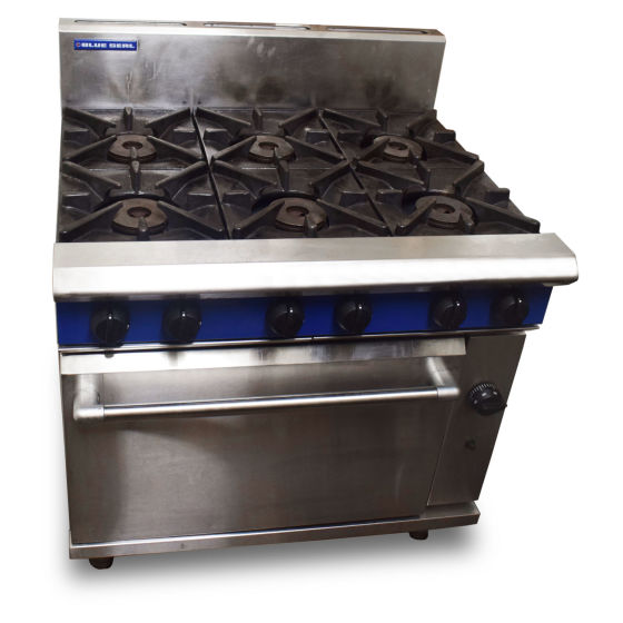 Blue Seal 6 burner Oven Range