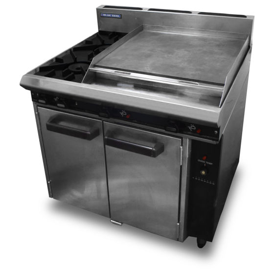 Blue Seal 2 Burner Oven & Griddle