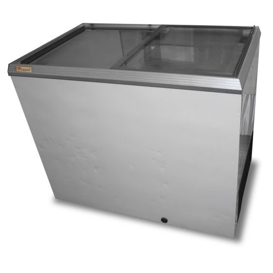 Caravell Display Chest Freezer
