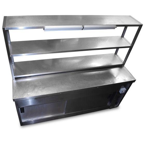 Pass-Through Hot Cupboard & Gantry