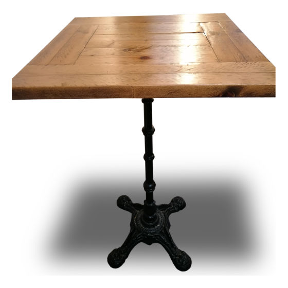x8 Square Solid Wood Poseur Tables
