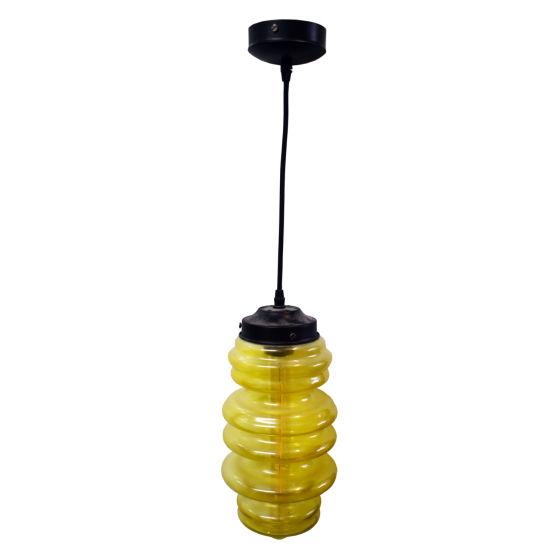 x3 Yellow pendant Lights