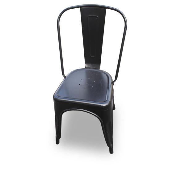 Black Tolix Style Chairs (x2)
