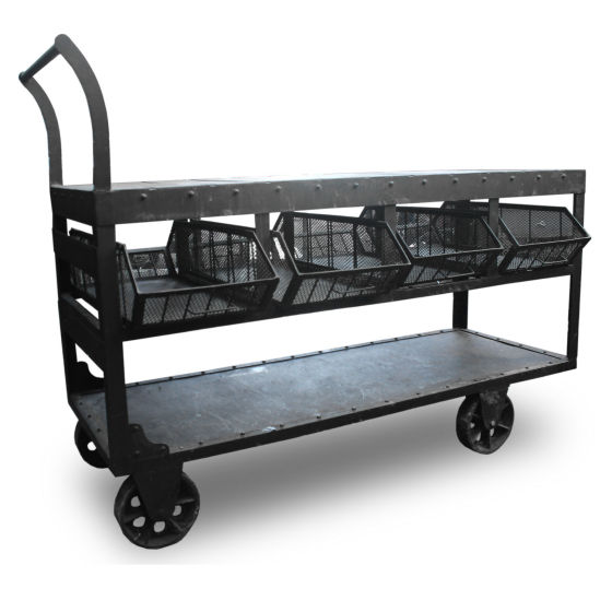 Industrial Trolley with Baskets
