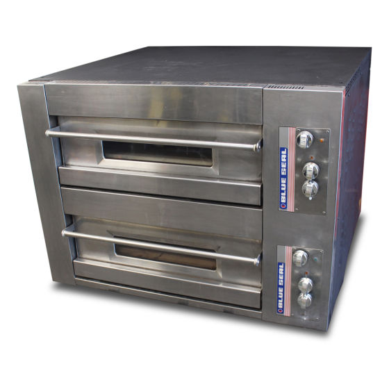 Blue Seal Twin Deck Pizza Oven