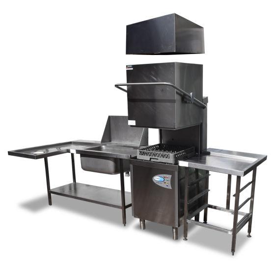ClassEQ Pass-through Dishwasher Station