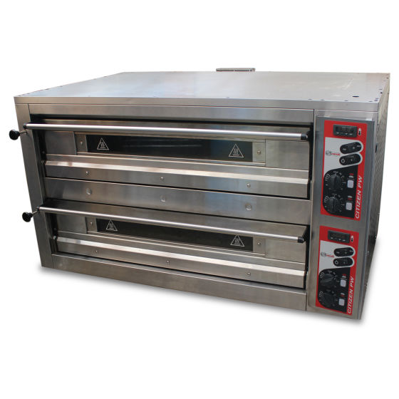 Zanolli Twin Deck Pizza Oven