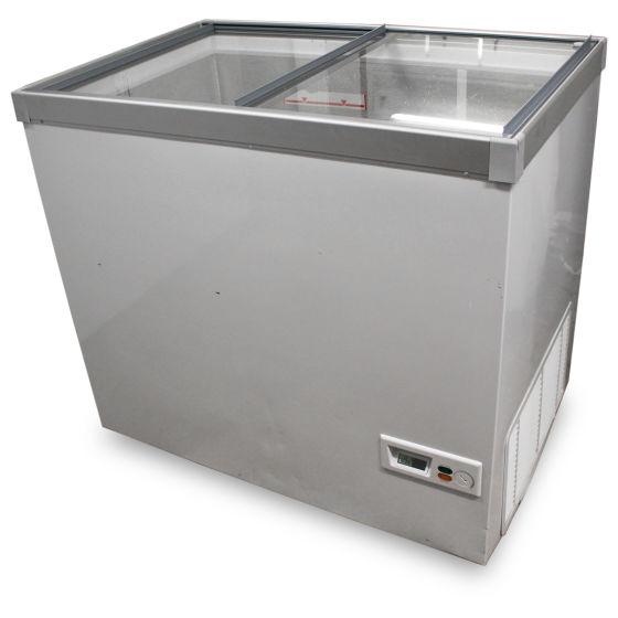 White Display Freezer