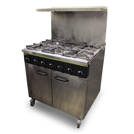 Buffalo 6 Burner Oven Range