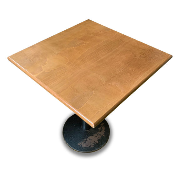x6 Small Square Lightwood Tables