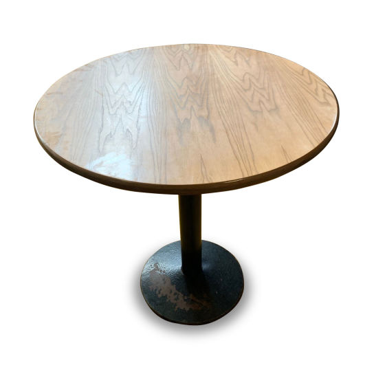 x2 Round Lightwood Tables