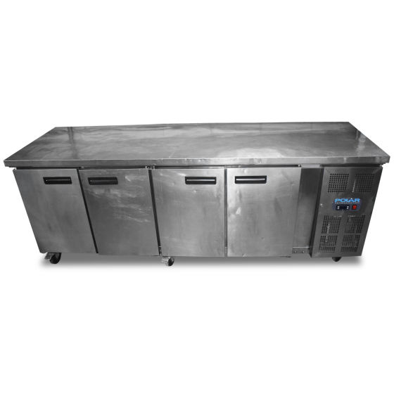 Polar 4 Door Prep Fridge