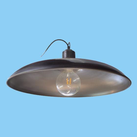 x4 Large Silver Pendant Lights