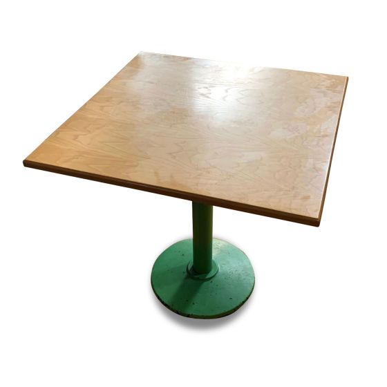 x3 Large Square Lightwood Tables
