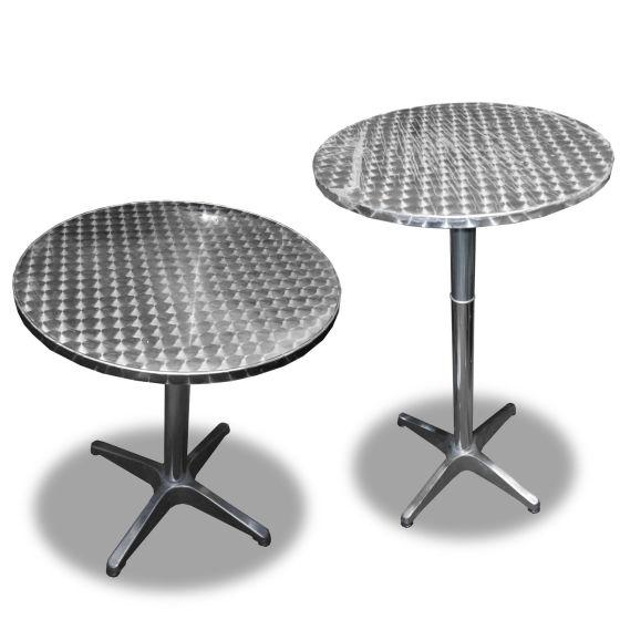 Aluminium Outdoor Table Set x3