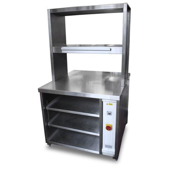 Stainless Storage & Heated Gantry