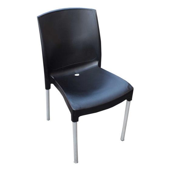 x16 Black Plastic Chairs