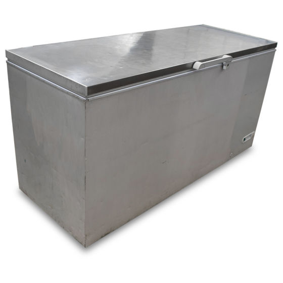 Elcold Stainless Topped Chest Freezer