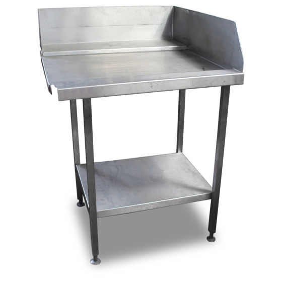 0.8m Stainless Steel Dishwasher Side Table