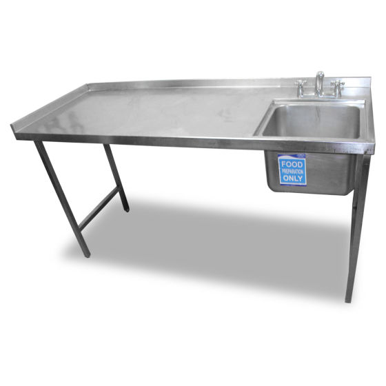 1.8m Stainless Steel Single Sink