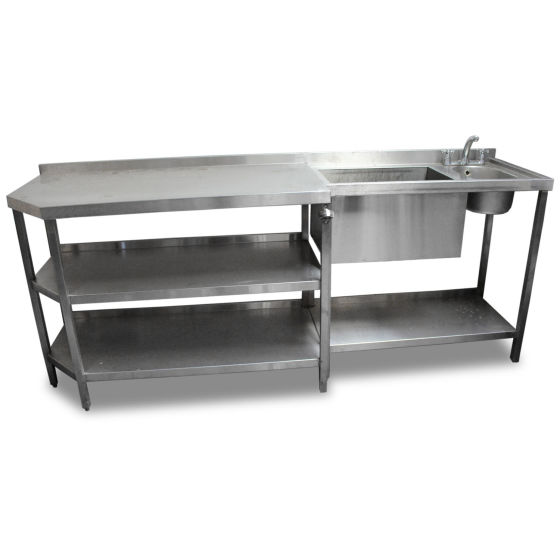 2.27M Stainless Steel Bar Unit