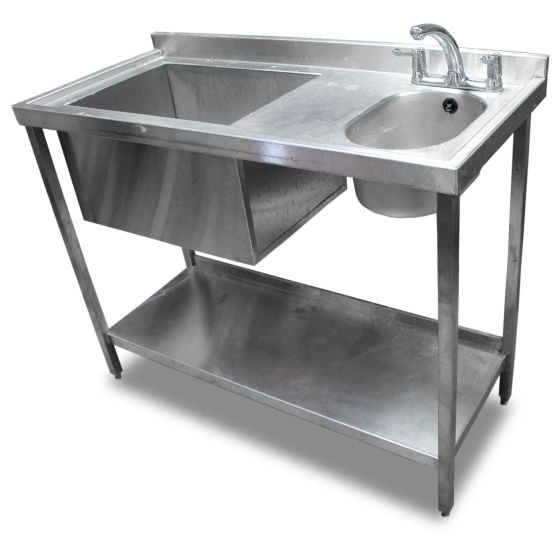 1.2m Stainless Steel Bar Sink