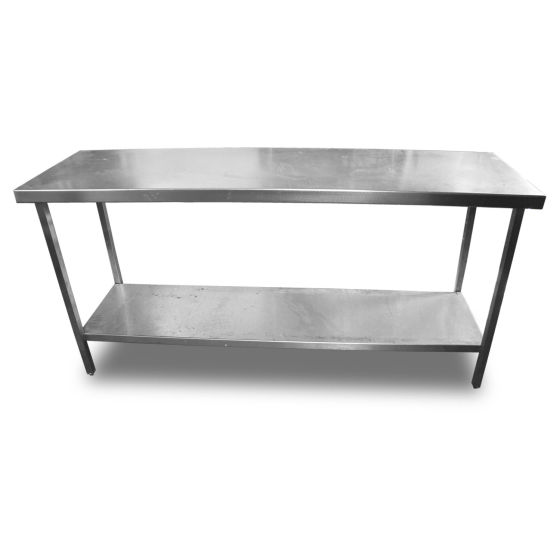 1.77m Stainless Steel Table