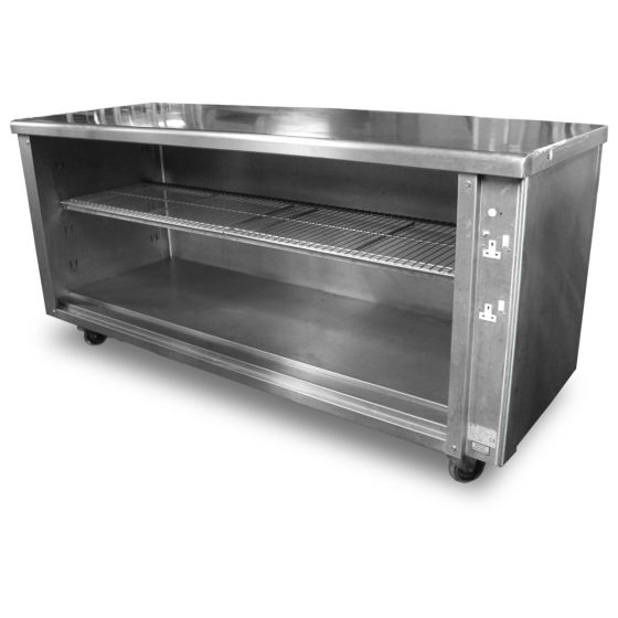 1.9m Stainless Steel Cupboard
