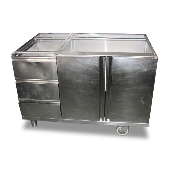 1.2m Stainless Steel Appliance Stand