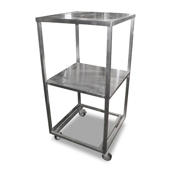 0.7m Stainless Steel Shelving