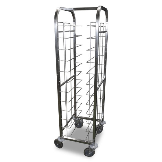 Stainless Steel Trolley Rack x2