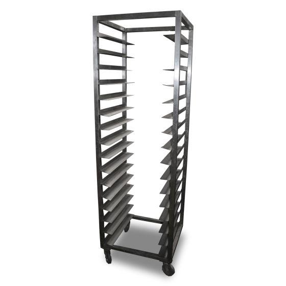 0.5m Stainless Steel Trolley Rack