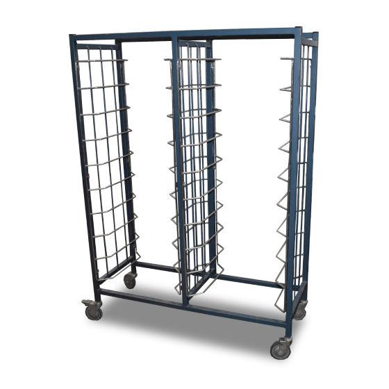 1m Stainless Steel Trolley Rack