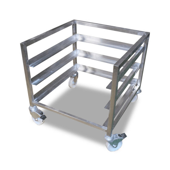 0.59m Low Stainless Steel Appliance Racking