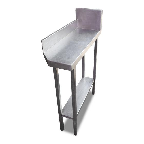 0.3m Stainless Steel Corner Filler Table