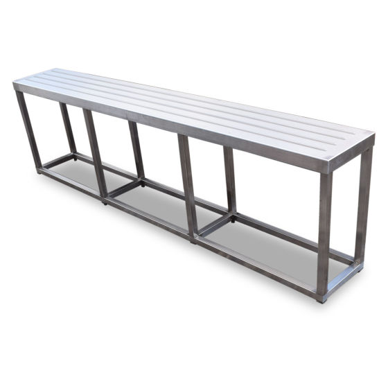 2.1m Stainless Steel Tray Stand