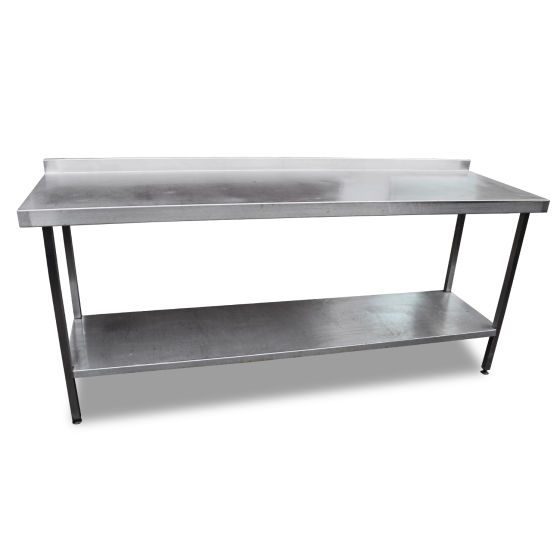 2m Stainless Steel Table